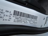 2014 Grand Cherokee Color Code for Bright White - Color Code: PW7