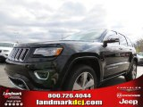 2014 Black Forest Green Pearl Jeep Grand Cherokee Overland 4x4 #78851919