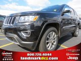 2014 Brilliant Black Crystal Pearl Jeep Grand Cherokee Limited #78851918