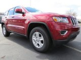 Deep Cherry Red Crystal Pearl Jeep Grand Cherokee in 2014