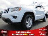 2014 Bright White Jeep Grand Cherokee Laredo #78851915