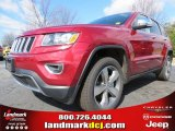 2014 Deep Cherry Red Crystal Pearl Jeep Grand Cherokee Limited 4x4 #78851914