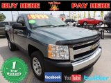 2008 Blue Granite Metallic Chevrolet Silverado 1500 Work Truck Regular Cab #78852110