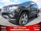2014 Brilliant Black Crystal Pearl Jeep Grand Cherokee Limited #78851911