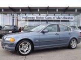 2001 Steel Blue Metallic BMW 3 Series 330i Sedan #78851993