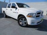 2012 Bright White Dodge Ram 1500 Express Crew Cab #78851969