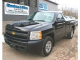 2011 Black Chevrolet Silverado 1500 Regular Cab 4x4 #78851955