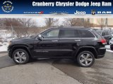 2014 Brilliant Black Crystal Pearl Jeep Grand Cherokee Limited 4x4 #78879938