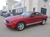 2011 Red Candy Metallic Ford Mustang V6 Coupe #78880057