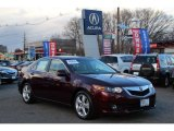 2010 Basque Red Pearl Acura TSX Sedan #78879790