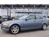 2001 Steel Blue Metallic BMW 3 Series 330i Sedan #78880519