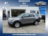 2011 Sterling Grey Metallic Ford Explorer XLT 4WD #78879889
