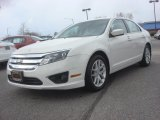 2011 White Suede Ford Fusion SEL #78880005