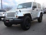 2012 Bright Silver Metallic Jeep Wrangler Sahara Arctic Edition 4x4 #78880004