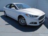2013 White Platinum Metallic Tri-coat Ford Fusion SE 1.6 EcoBoost #78880119