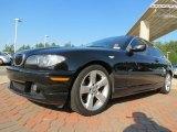 2005 Jet Black BMW 3 Series 325i Coupe #78880394