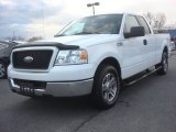 Oxford White Ford F150 in 2005