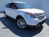 2013 White Platinum Tri-Coat Ford Explorer XLT #78880111