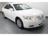 2008 Super White Toyota Camry XLE #78880251