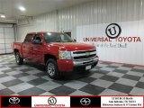 2009 Victory Red Chevrolet Silverado 1500 LS Crew Cab #78879846