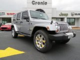 2013 Billet Silver Metallic Jeep Wrangler Unlimited Sahara 4x4 #78880079