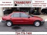 1999 Cayenne Red Metallic Chevrolet Cavalier Sedan #78879949