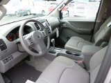 2013 Nissan Frontier SV V6 Crew Cab 4x4 Steel Interior