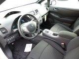 2013 Nissan LEAF S Black Interior