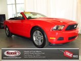 2012 Race Red Ford Mustang V6 Premium Convertible #78939538