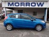 2013 Blue Candy Ford Fiesta SE Hatchback #78939671