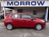 2013 Ruby Red Ford Fiesta SE Hatchback #78939670