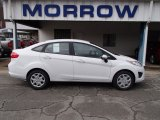 2013 Oxford White Ford Fiesta SE Sedan #78939669