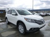 2013 White Diamond Pearl Honda CR-V EX-L AWD #78940065
