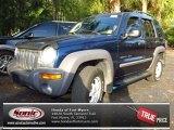 2002 Patriot Blue Pearlcoat Jeep Liberty Sport 4x4 #78939527