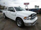2011 Bright White Dodge Ram 1500 Big Horn Quad Cab 4x4 #78940053