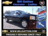 2013 Black Chevrolet Silverado 1500 LT Crew Cab 4x4 #78940189