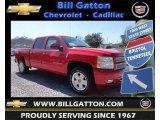 2013 Victory Red Chevrolet Silverado 1500 LT Crew Cab 4x4 #78940188