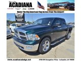 2011 Hunter Green Pearl Dodge Ram 1500 Big Horn Crew Cab #78939757