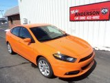 2013 Header Orange Dodge Dart SXT #78940271