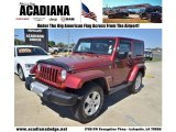 2011 Deep Cherry Red Crystal Pearl Jeep Wrangler Sahara 4x4 #78939756