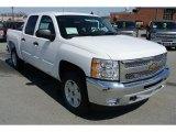 2013 Summit White Chevrolet Silverado 1500 LT Crew Cab 4x4 #78940032