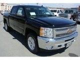 2013 Black Chevrolet Silverado 1500 LT Crew Cab 4x4 #78940028