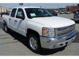 2013 Summit White Chevrolet Silverado 1500 LT Crew Cab 4x4 #78940025