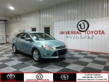 2012 Frosted Glass Metallic Ford Focus SEL Sedan #78939622