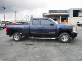 2009 Imperial Blue Metallic Chevrolet Silverado 1500 LS Extended Cab #78940154