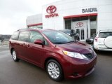 2012 Salsa Red Pearl Toyota Sienna LE AWD #78940235