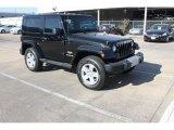 2011 Black Jeep Wrangler Sahara 4x4 #78940207