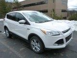 2013 White Platinum Metallic Tri-Coat Ford Escape SEL 1.6L EcoBoost 4WD #78939706