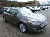 2013 Sterling Gray Metallic Ford Fusion Hybrid SE #78939699