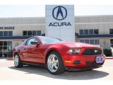 2011 Red Candy Metallic Ford Mustang V6 Premium Coupe #78939545